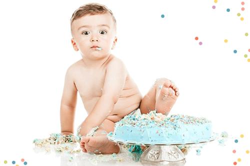 Favoriete Uitnodiging eerste verjaardag   Kinderfeestje 1 jaar   HierBenIk! &SA86