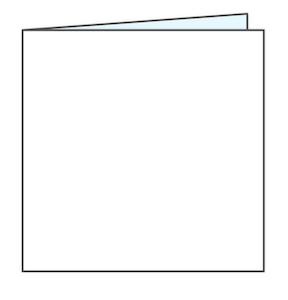 vierkant geboortekaartje maken