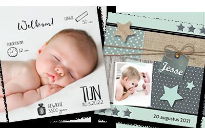 foto geboortekaartjes